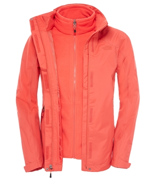 Εικόνα της north face women's evolution II triklimate jacket