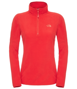 Εικόνα της north face women's 100 glacier 1/4 zip