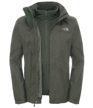 Εικόνα της north face men evolve ii triclimate jacket