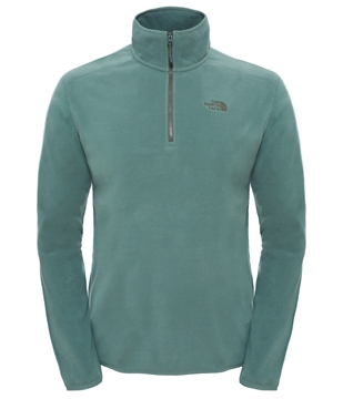 Εικόνα της north face fleece men 100 glacier 1/4 zip