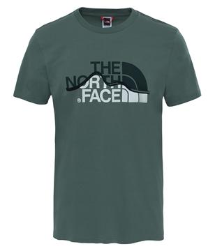 Εικόνα της north face ανδρικο κοντομανικο mtn line tee
