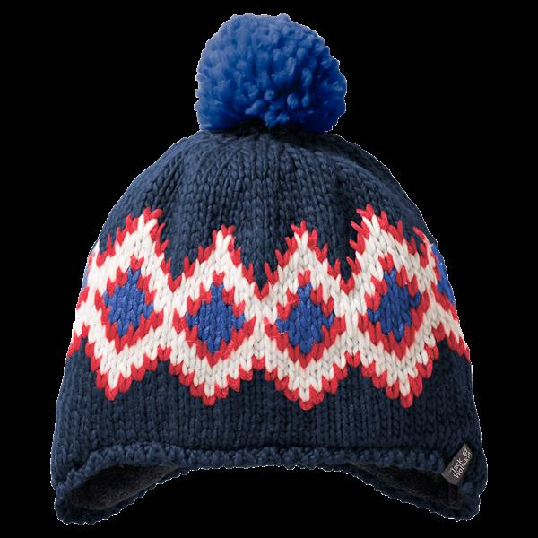 Εικόνα της jack wolfskin παιδικος σκουφος  diamond knit cap