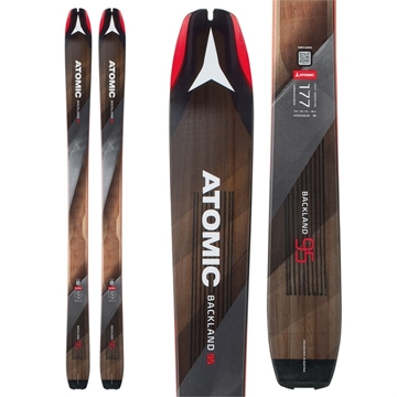 Εικόνα της atomic ski backland 95 + skin