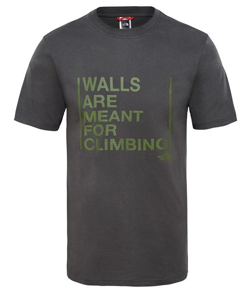 Εικόνα της north face ανδρικο κοντομανικο walls climb