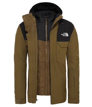 Εικόνα της north face ανδρικο fourbarrel triclimate jacket
