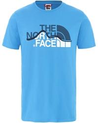 Εικόνα της north face ανδρικο κοντομανικο mountain line