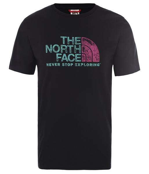 Εικόνα της north face ανδρικο κοντομανικο rust 2
