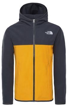 Εικόνα της north face παιδικο fleece glacier full zip hoodie